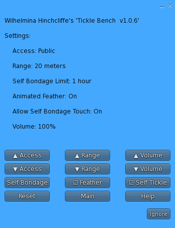 TB-Settings Menu