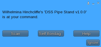 PipeStand User Main Menu