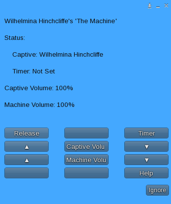 The Machine - Captive Menu
