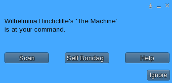 The Machine - Main Menu